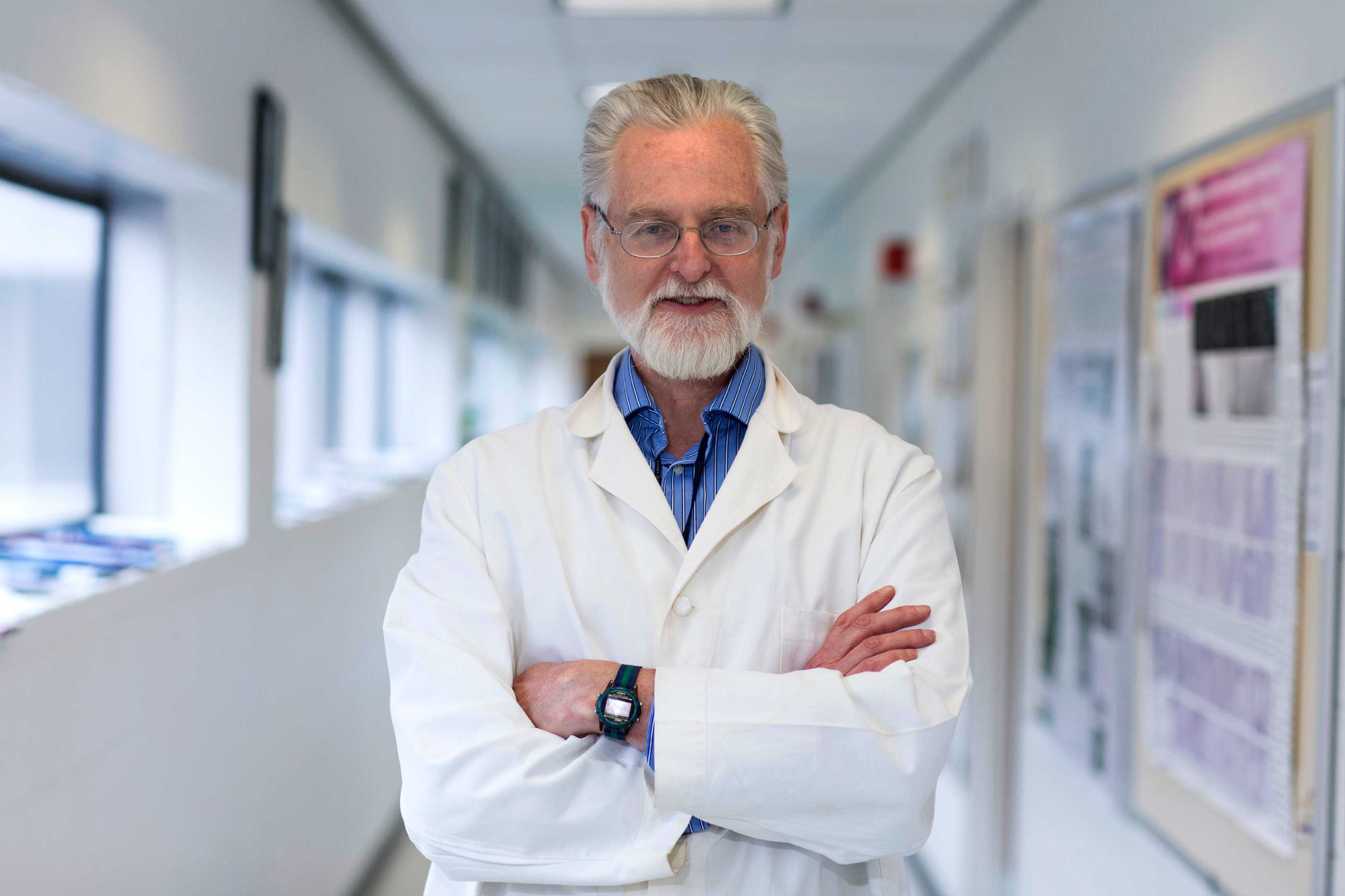 John Herr approached all that he did with remarkable energy, determination and enthusiasm, said his colleagues and former students in the School of Medicine. (Photo by Dan Addison, University Communications)