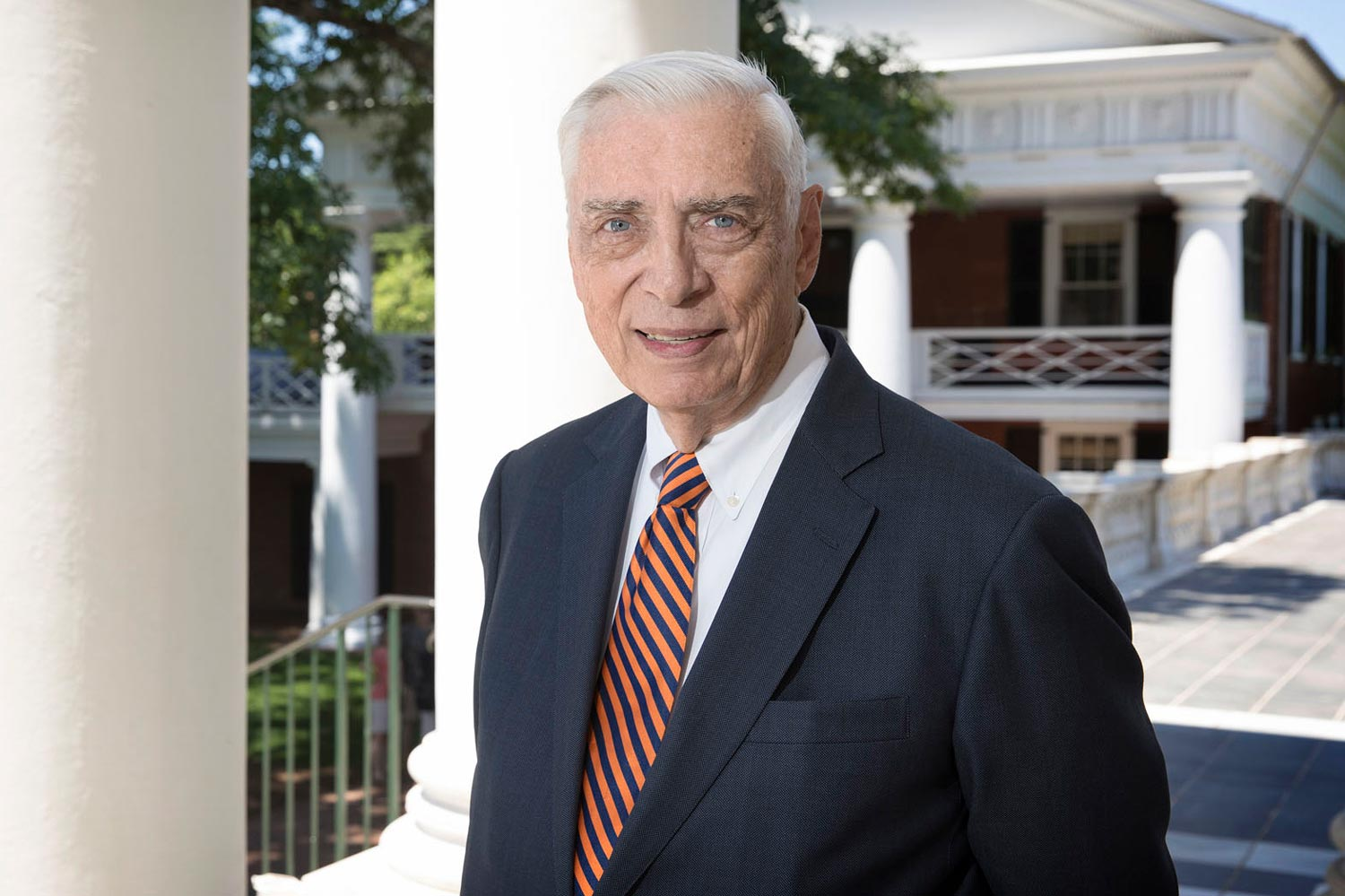 """John Lowe earned a degree in law at UVA in 1967 and remained dedicated to his """"beloved University"""" and attaining justice for """"the little guys"""" the rest of his life."""