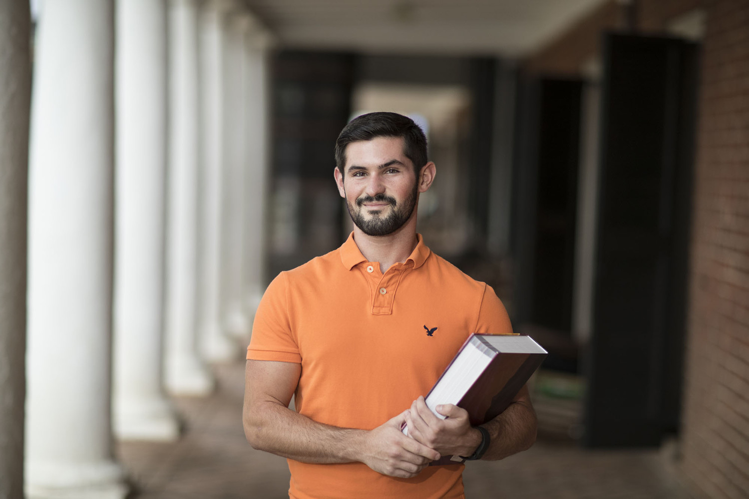 Nursing student Josh Moore's passion for health goes beyond caring for patients on the hospital floor. The certified INSANITY instructor also believes in leading by example when it comes to both mental and physical well-being.