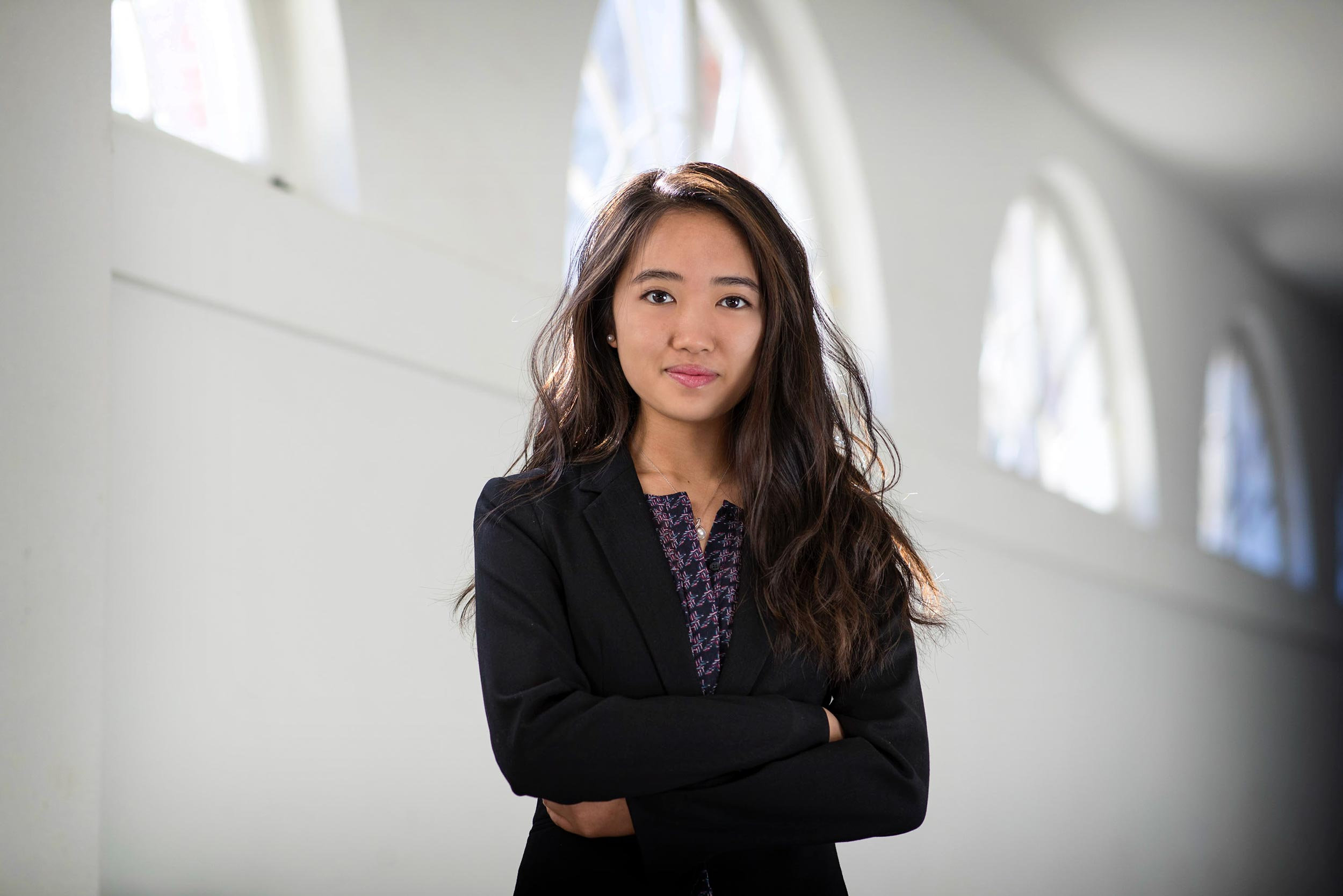 The ability to think ahead and overcome setbacks makes Joyce Cheng a strong researcher, her faculty mentor said.