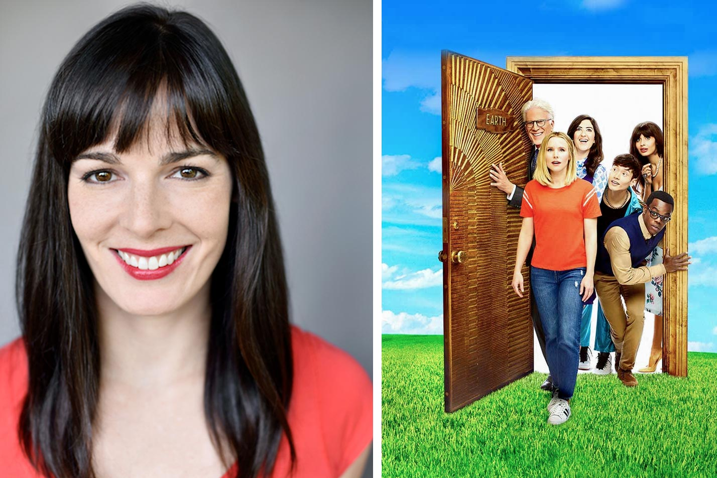 """Alumna Kassia Miller has been writing for """"The Good Place"""" for the show's past two seasons."""