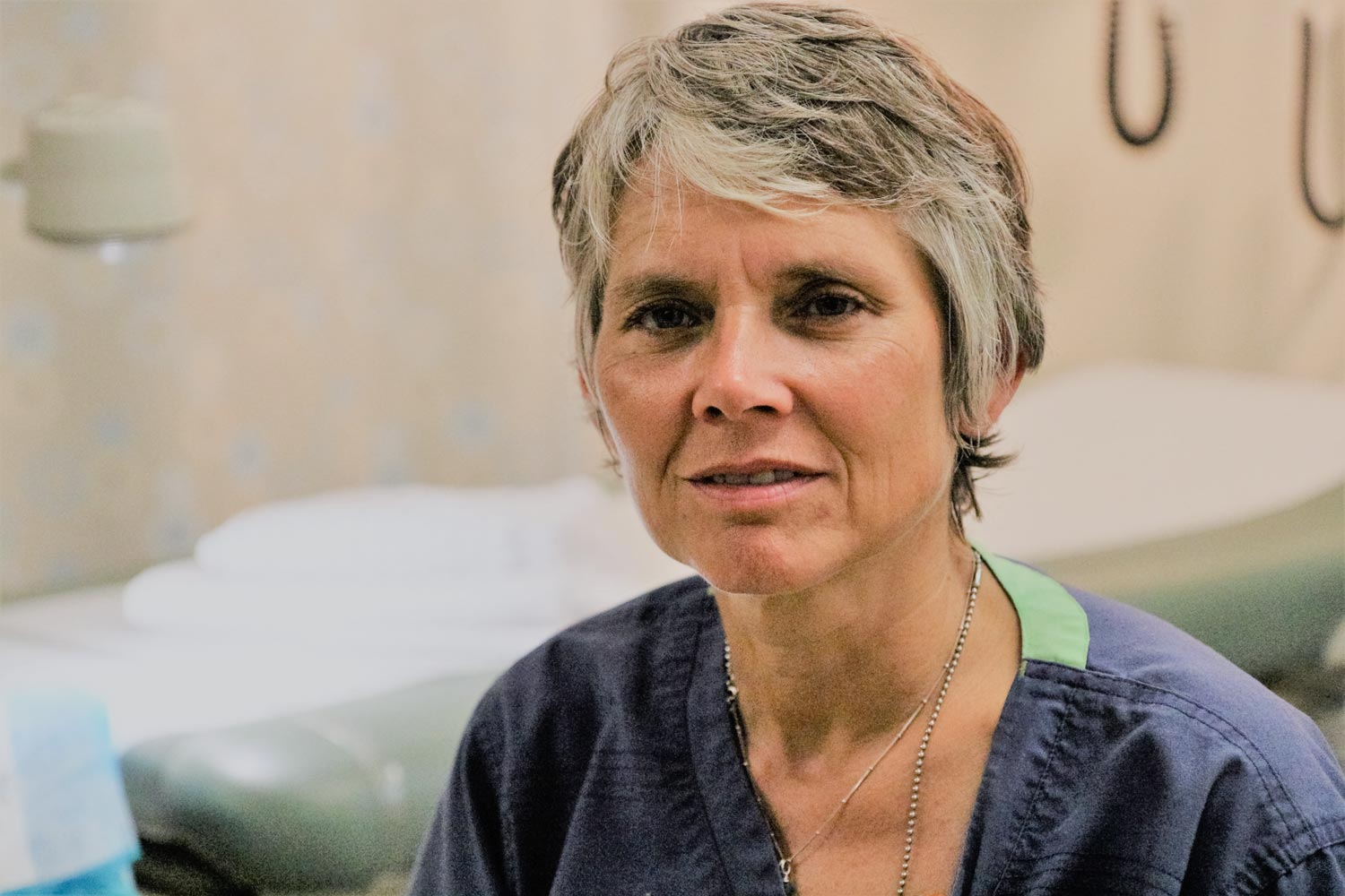 Forensic nurse examiner Kathryn Laughon is leading an effort tcases of attempted strangulation, backed by a $726,000 grant from the Uo better identify cases of attempted strangulation, baced by a $726,000 grant from the U.S. Department of Justice.