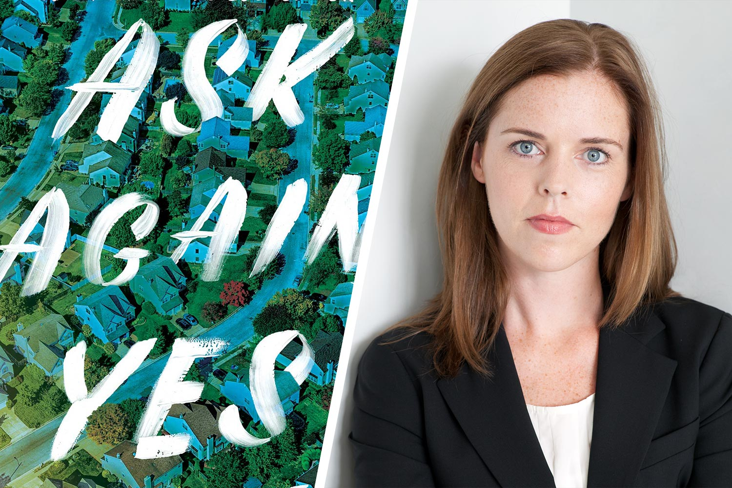 """Mary Beth Keane, a 2005 alumna of UVA's Creative Writing Program, garnered enough votes for her novel, """"Ask Again, Yes"""" to win the Tonight Show Summer Read."""