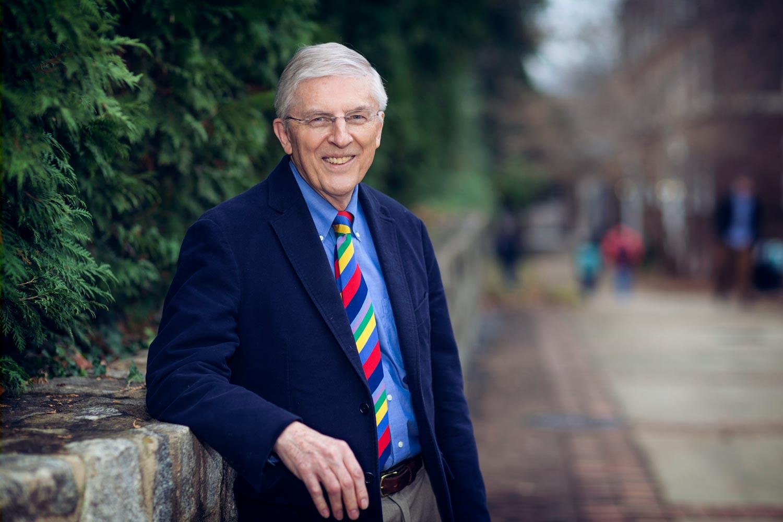 Nearly 500 donors raised $3 million to endow a professorship in honor of longtime economics professor Ken Elzinga.