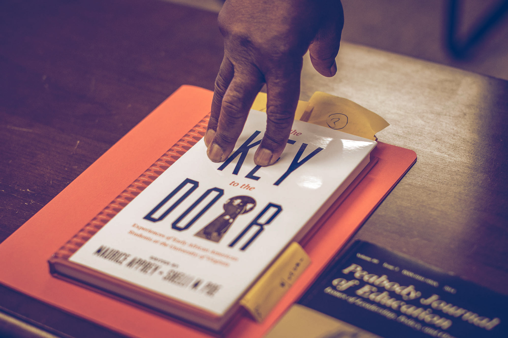 """UVA Press published """"The Key to the Door: Experiences of Early African American Students at the University of Virginia,"""" this spring."""