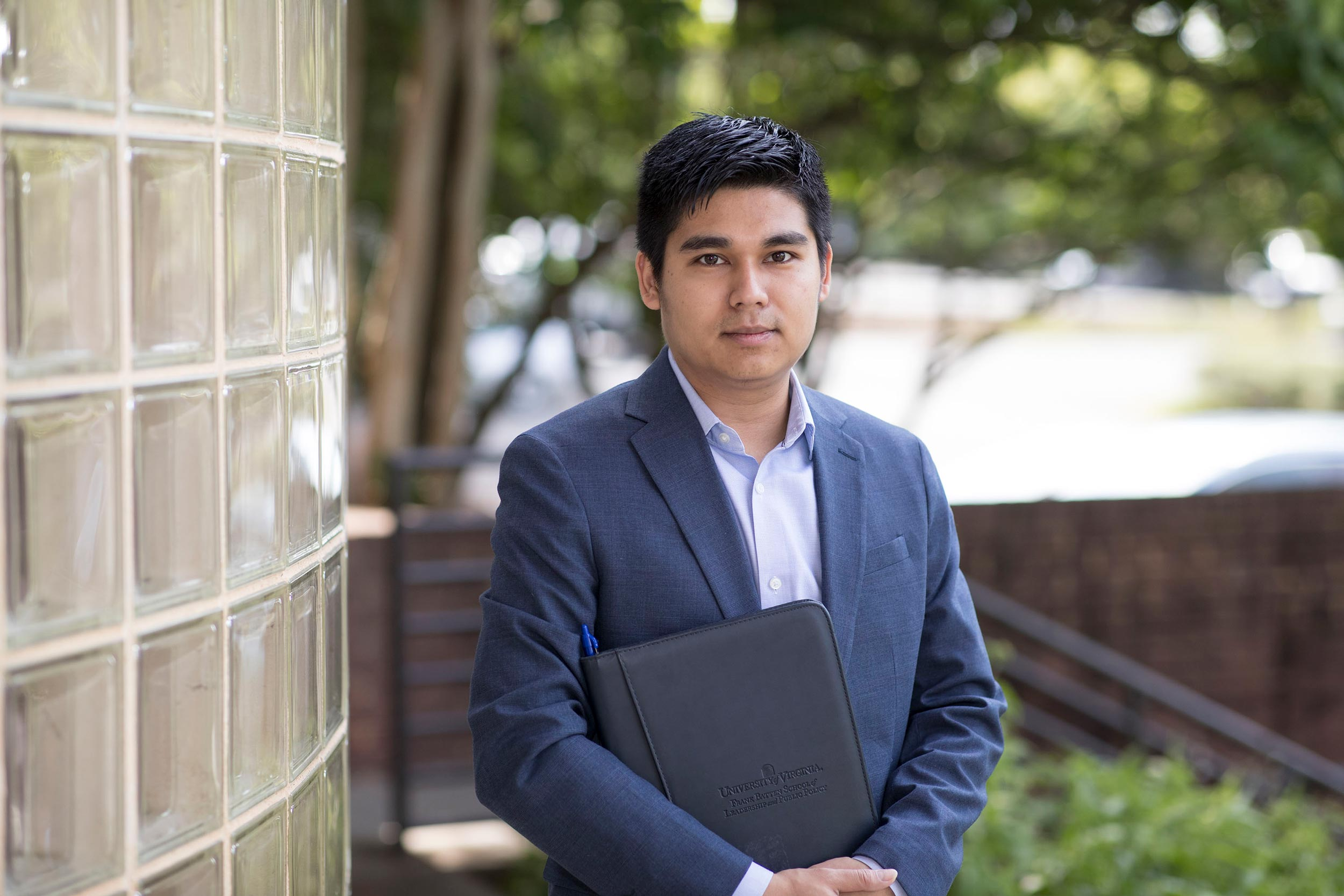 Kyaw Khine, a research and policy analyst at UVA's Weldon Cooper Center for Public Service, released a new report showing a marked increase in bachelor's and advanced degrees.