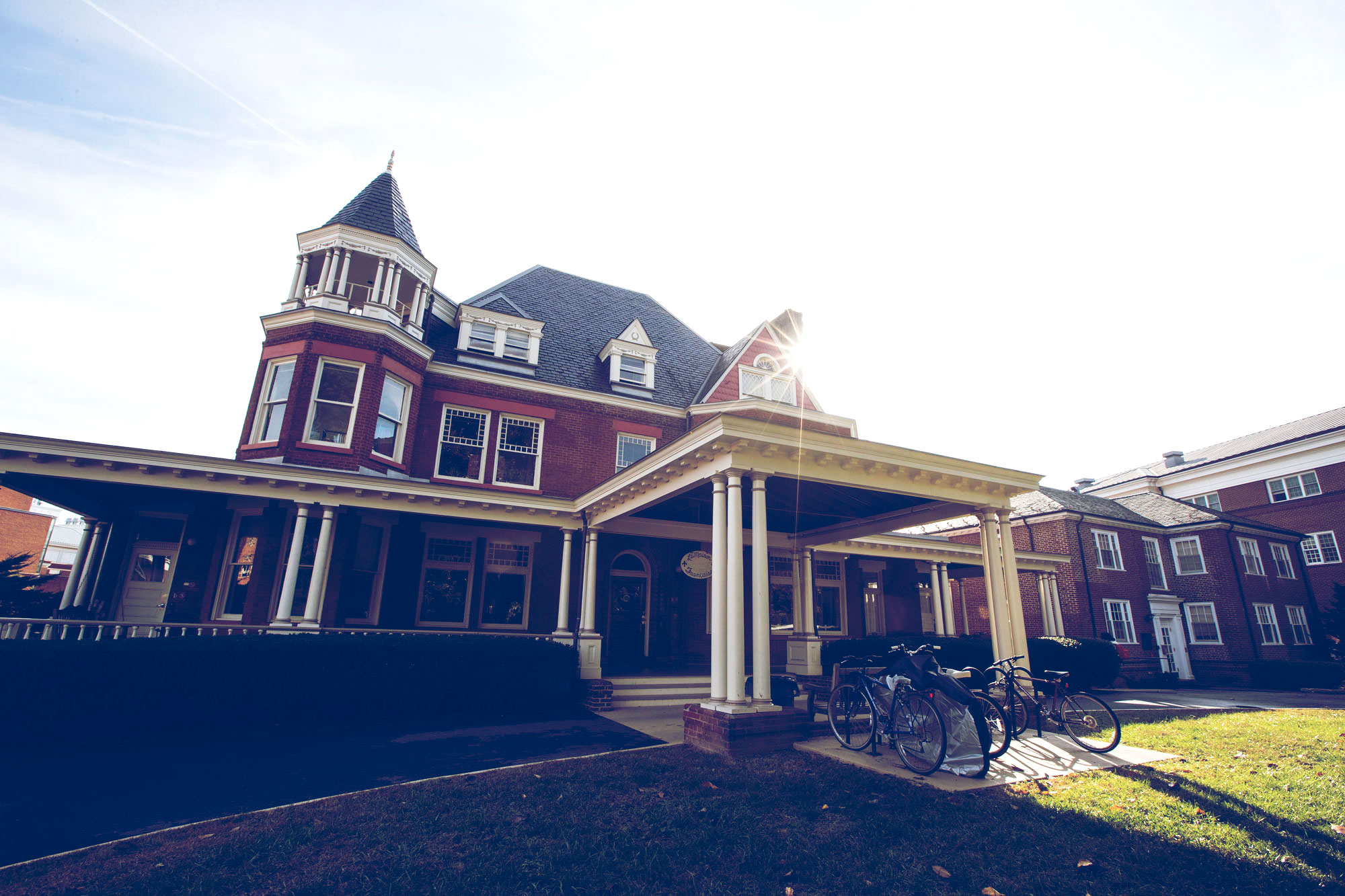 Residents of UVA's language houses have the opportunity to experience cultural immersion while enjoying a nontraditional living arrangement on Grounds.