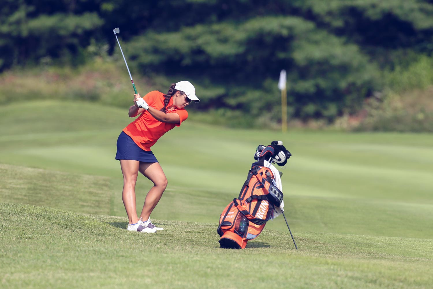 At UVA, Cavalier golfer Lauren Greenlief was an Echols Scholar, earned a spot on the ACC All-Academic Team and won three straight Virginia Women's Stroke Play Championships.