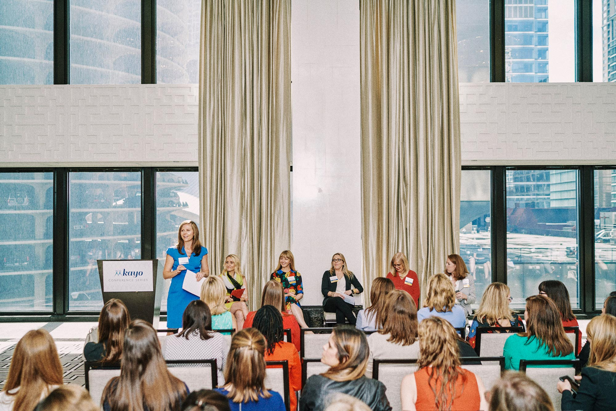 In 2013, Lindsay Burton started Kayo Conference Series, which is aimed toward women who want to advance their careers, connect with leaders and champion their peers. (Photo by Jack Soltysik)