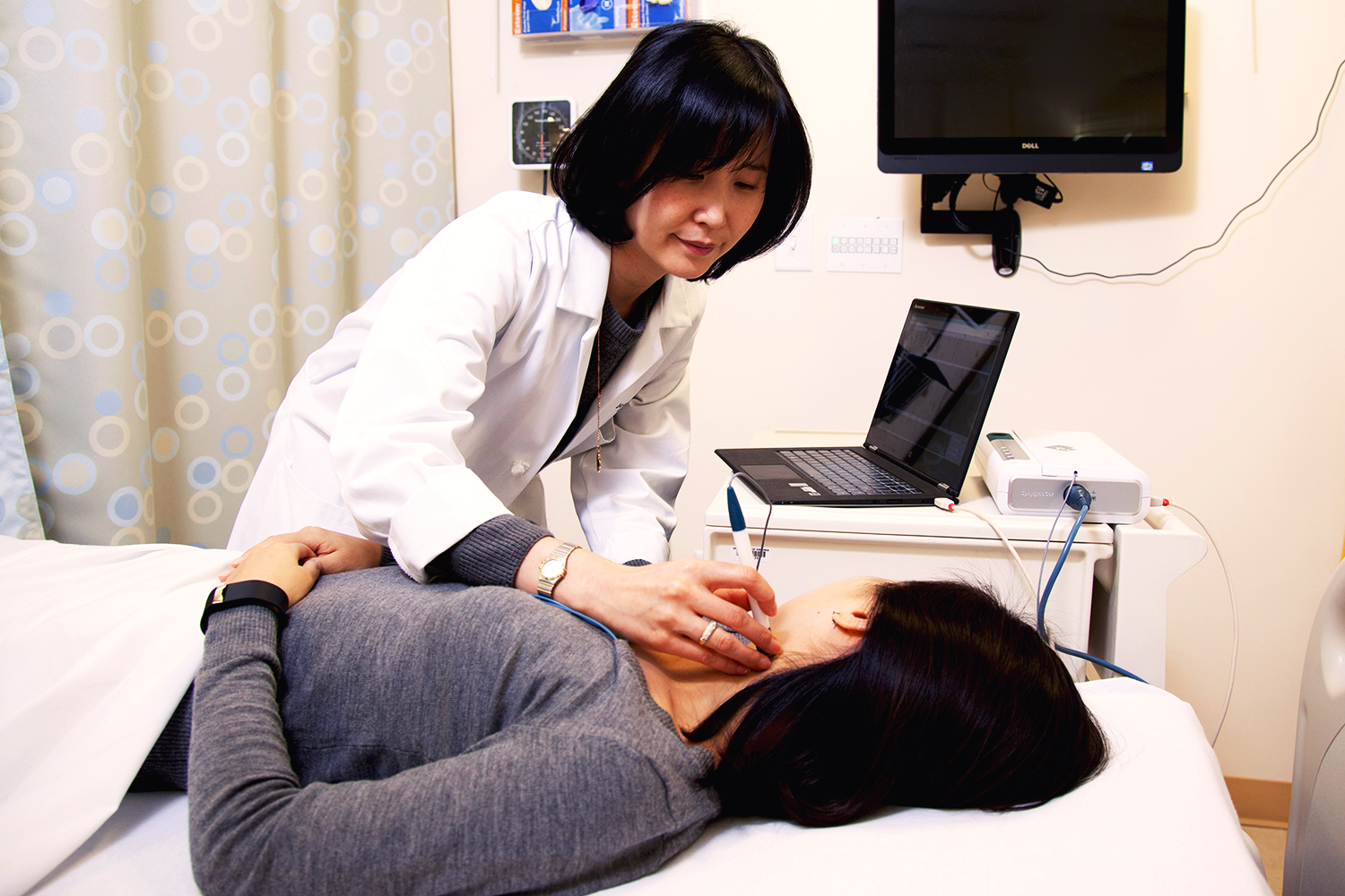 UVA nursing professor Jeongok Logan aims to measure how much the stiffening in one's arteries might start in one's head.