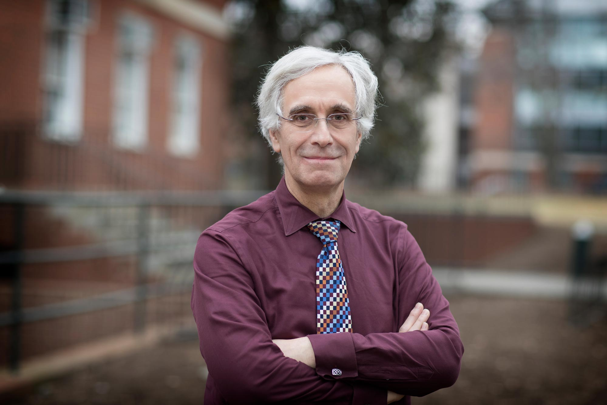 Lou Bloomfield is a longtime professor of physics at the University. (Photo by Dan Addison, University Communications)