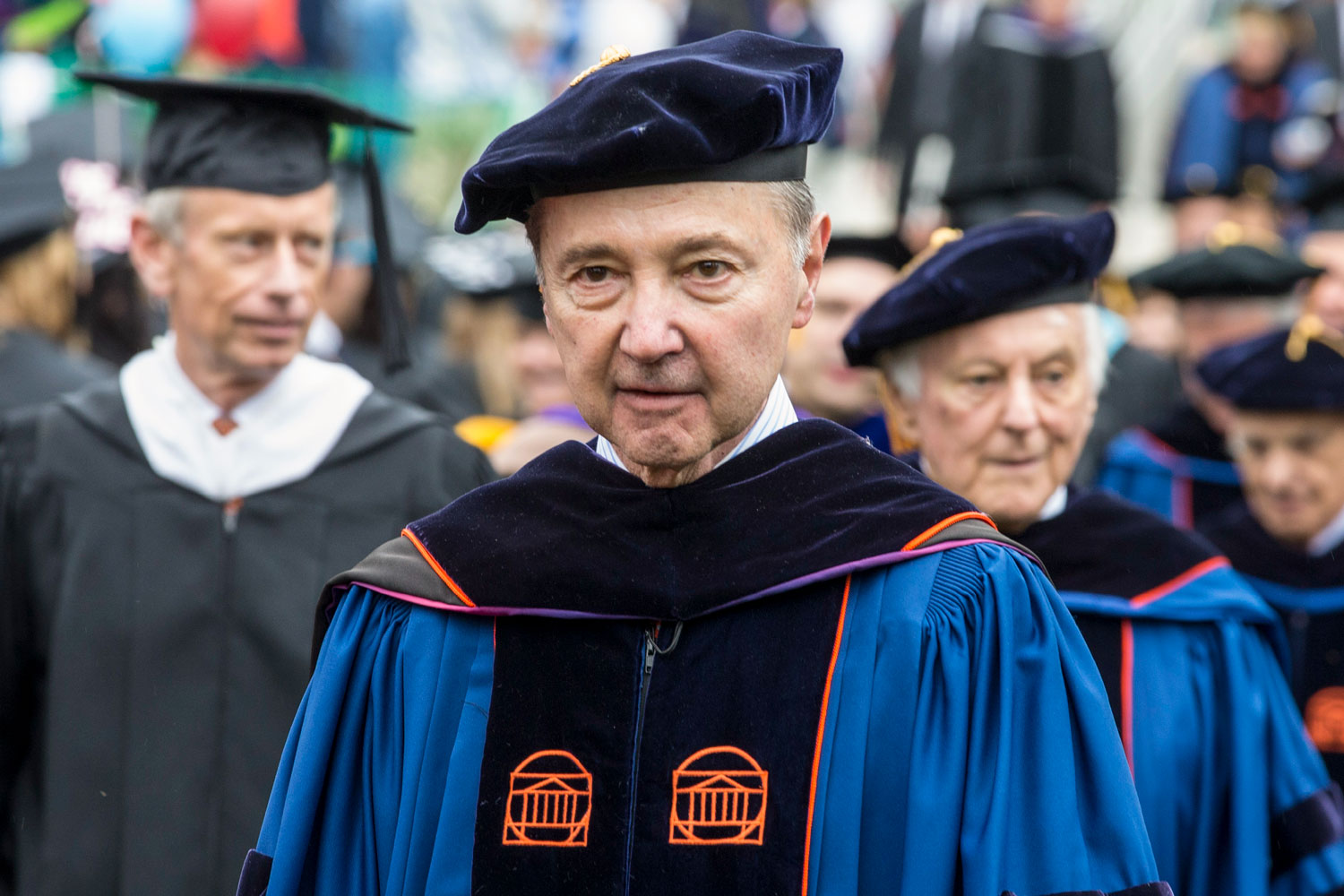 "Anthony ""Mac"" Caputo, who held undergraduate and law degrees from UVA, served on the Board of Visitors and other UVA organizations."