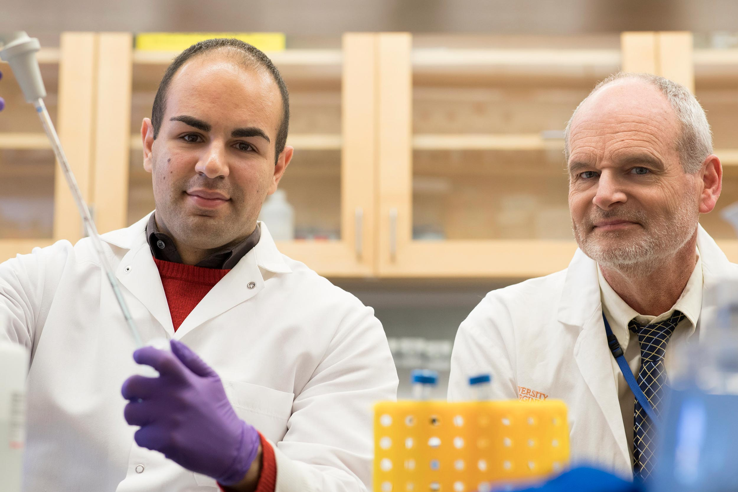 Researchers Mahmoud Saleh and William Petri were initially discouraged from looking into C. diffi infections, but their work has broken ground in identifying patients who might be susceptible to infection.