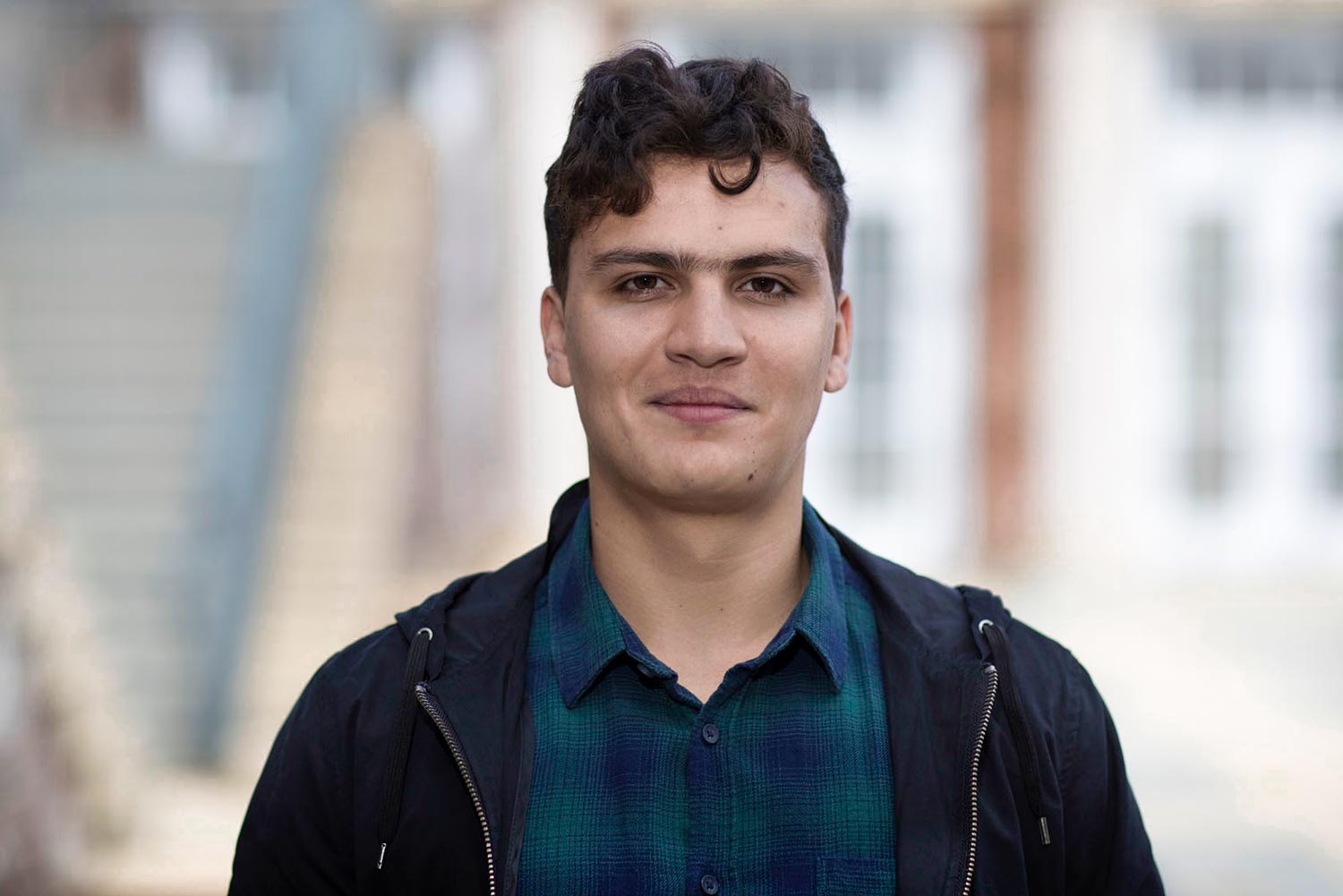 Mateo Semerene has coordinated community outreach efforts in Latin America and Charlottesville.