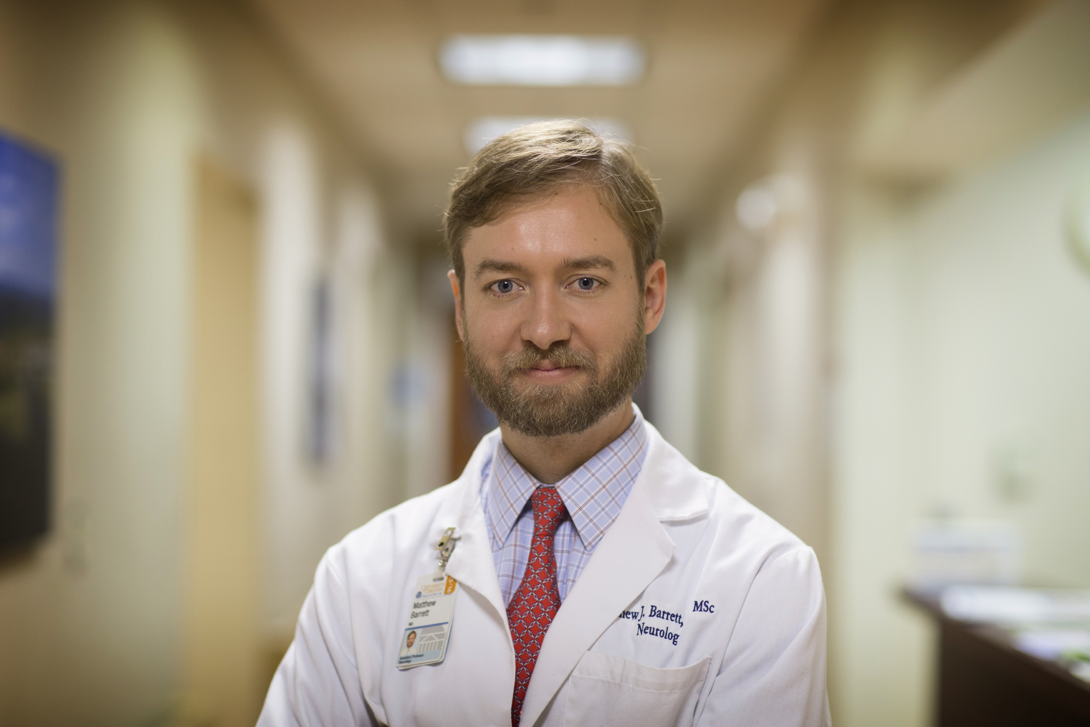 Dr. Matthew Barrett said UVA is in the early stages of bringing a clinical trial for Lewy body dementia to the Health System.