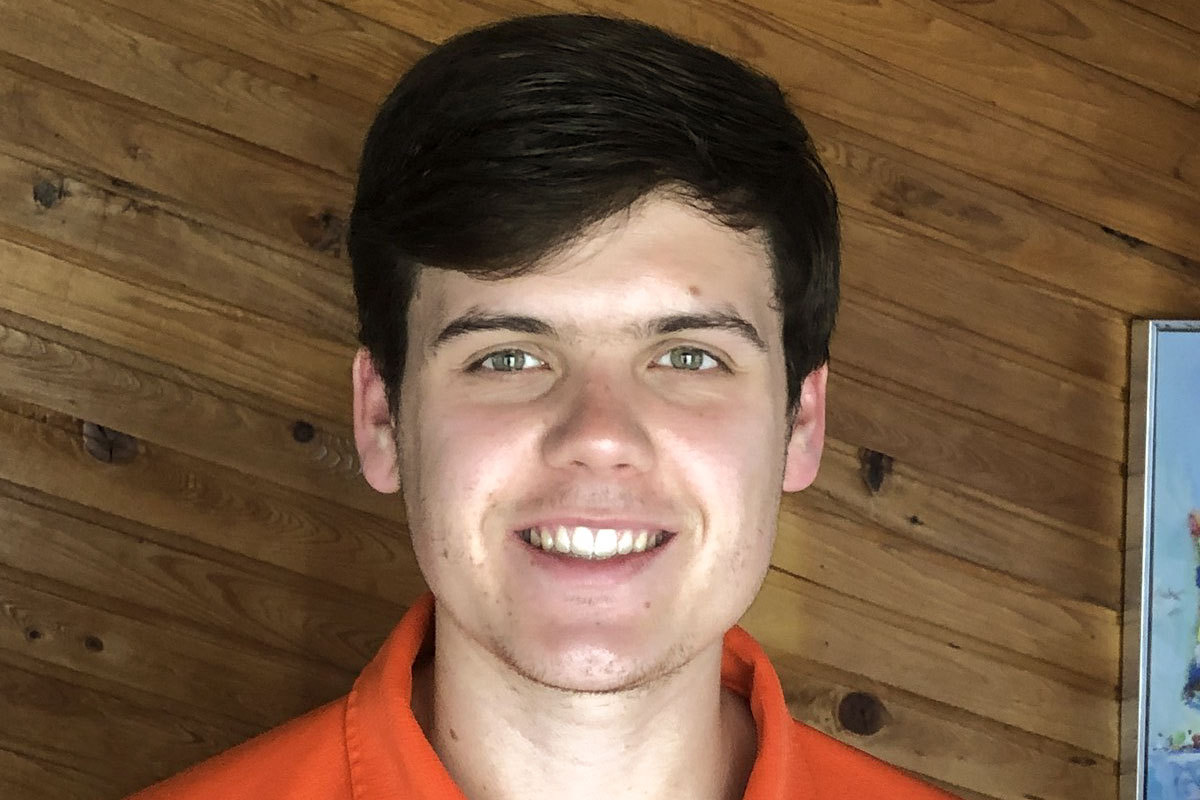 Rising third-year student Matthew Newton has served as the summer news director and sports director for WUVA.