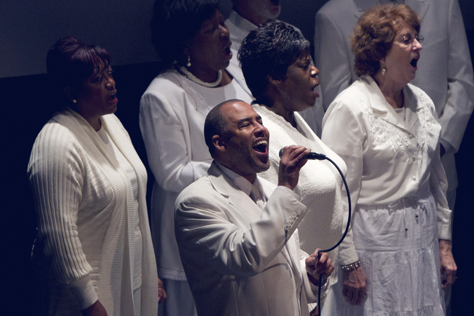 A community choir comes together each year to sing and celebrate the life and legacy of the Rev. Dr. Martin Luther King Jr.