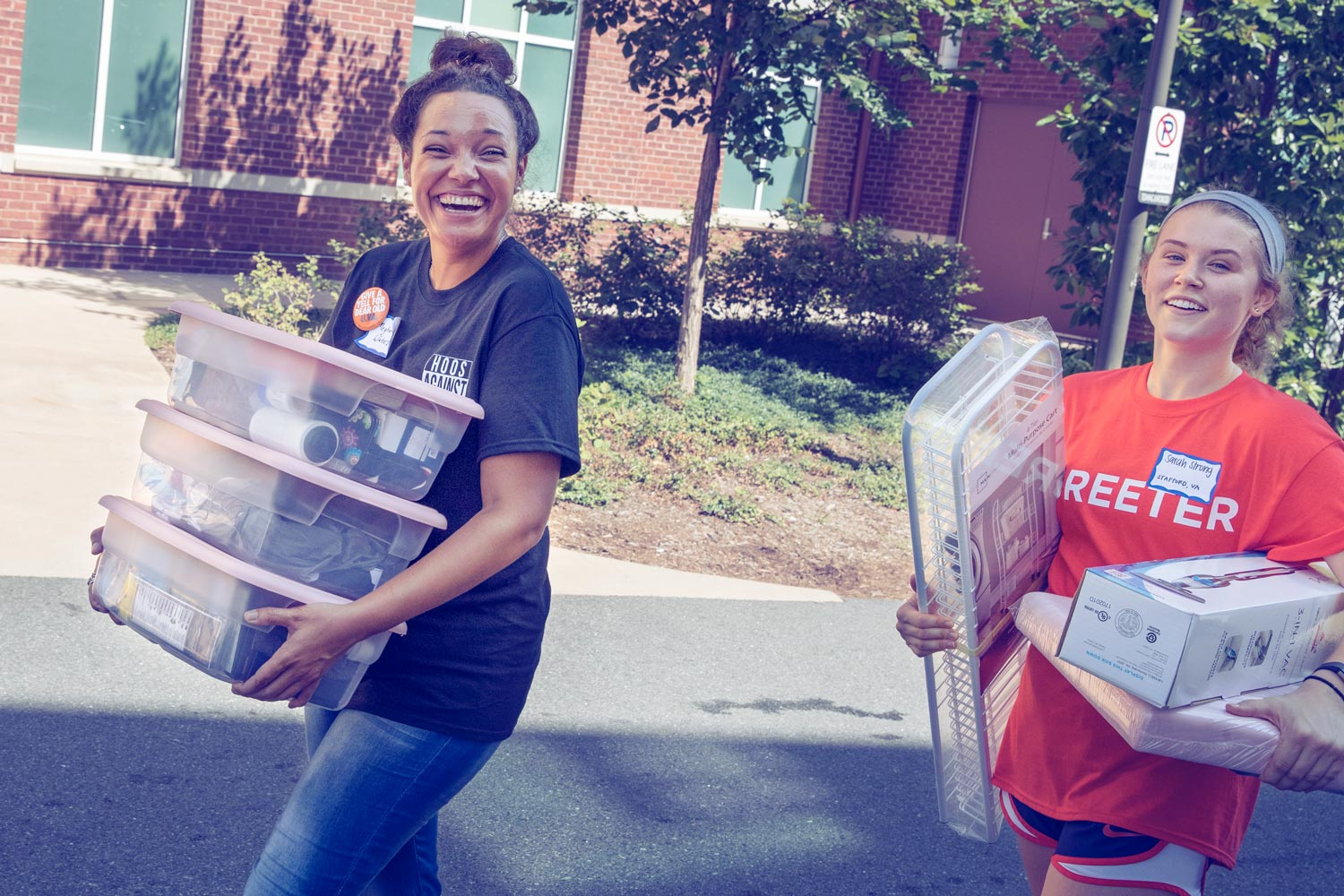 The Class of 2021 arrived on Grounds Friday and Saturday, coming from 47 states, the District of Columbia and Puerto Rico, and 73 countries.