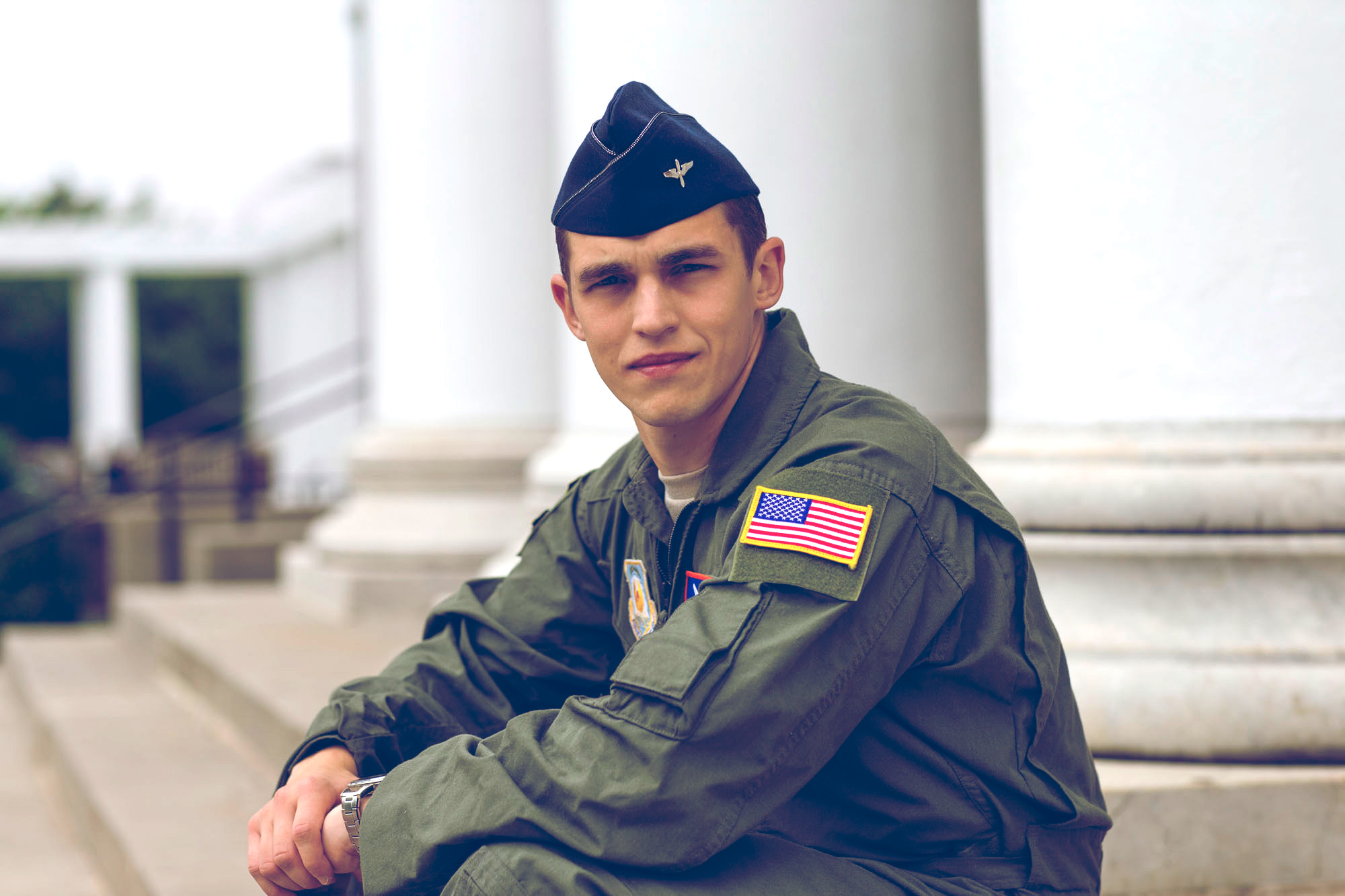University of Virginia Air Force Cadet Nathaniel Jewell
