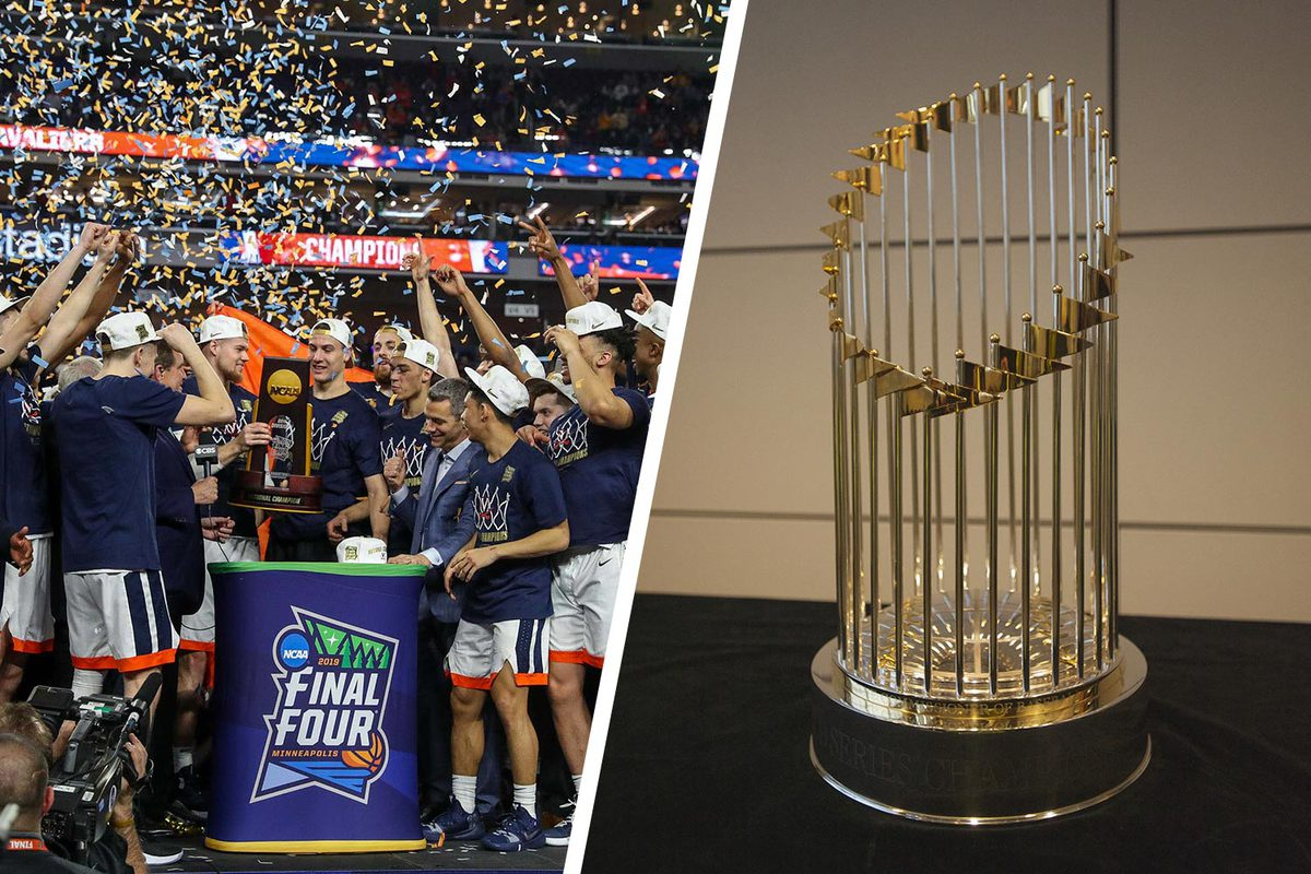 Two trophies and lots of joy for many Hoos.