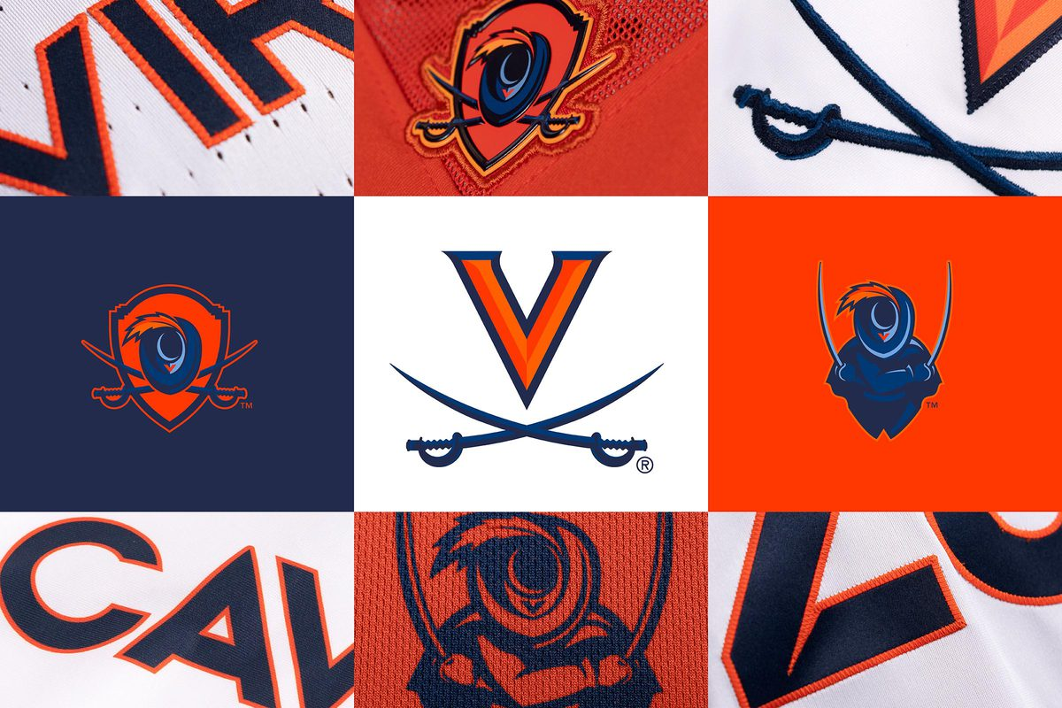 UVA's new marks pay homage to the University's history while also looking toward the future, according to Director of Athletics Carla Williams. (Illustration courtesy UVA Athletics)