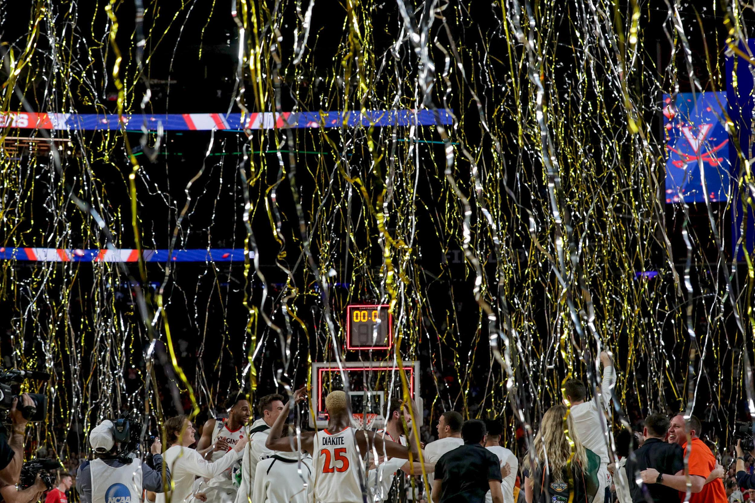 The celebration of UVA's first national men's basketball championship will continue Sept. 13 with a ring presentation and banner raising.