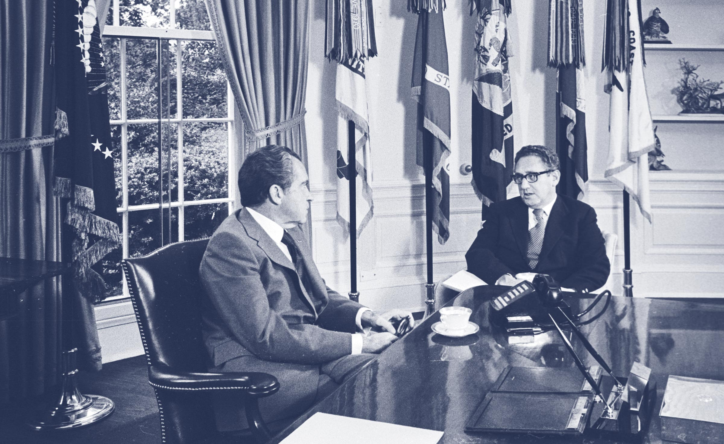 Image result for nixon and henry kissinger oval office