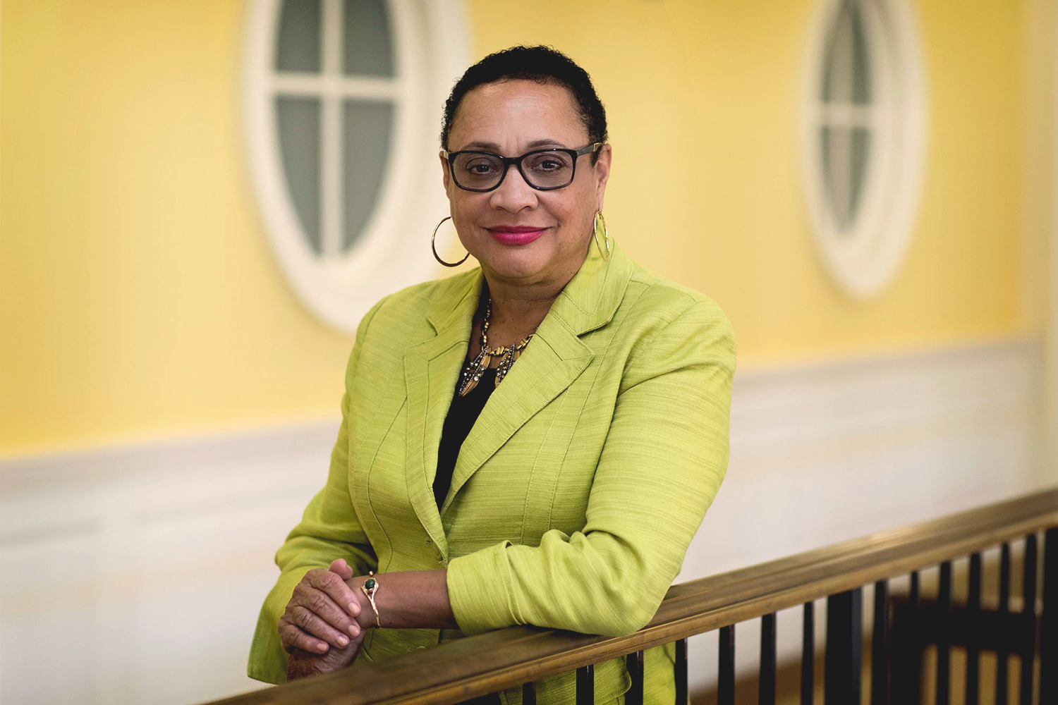 Patrice Grimes, an associate professor of education at UVA, focuses her research on civic education and the historical and socio-cultural contexts of schooling.