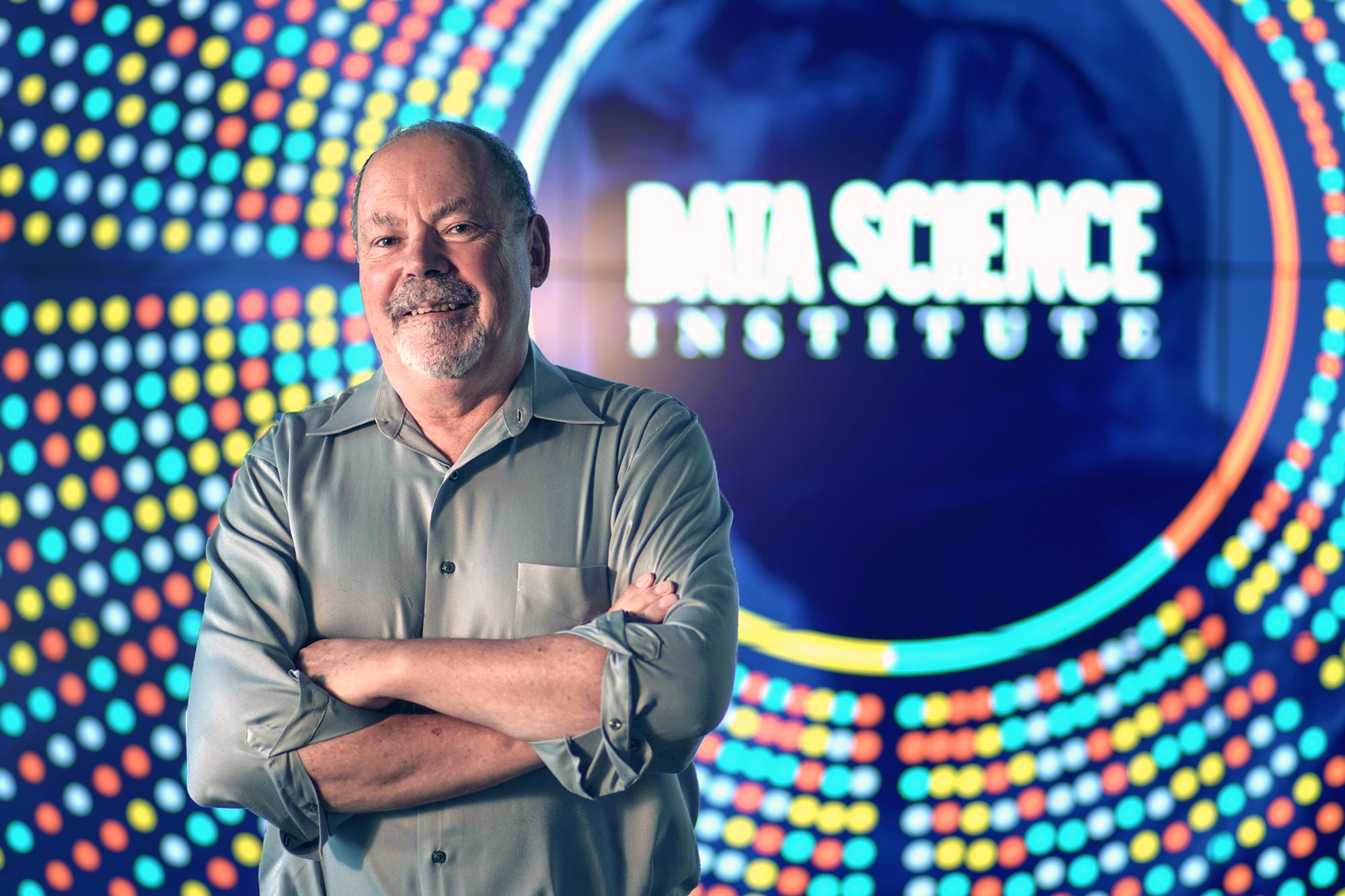 Philip Bourne, who previously led a major program at the National Institutes of Health, in May became the second director of UVA's Data Science Institute. (Photo by Tom Cogill)