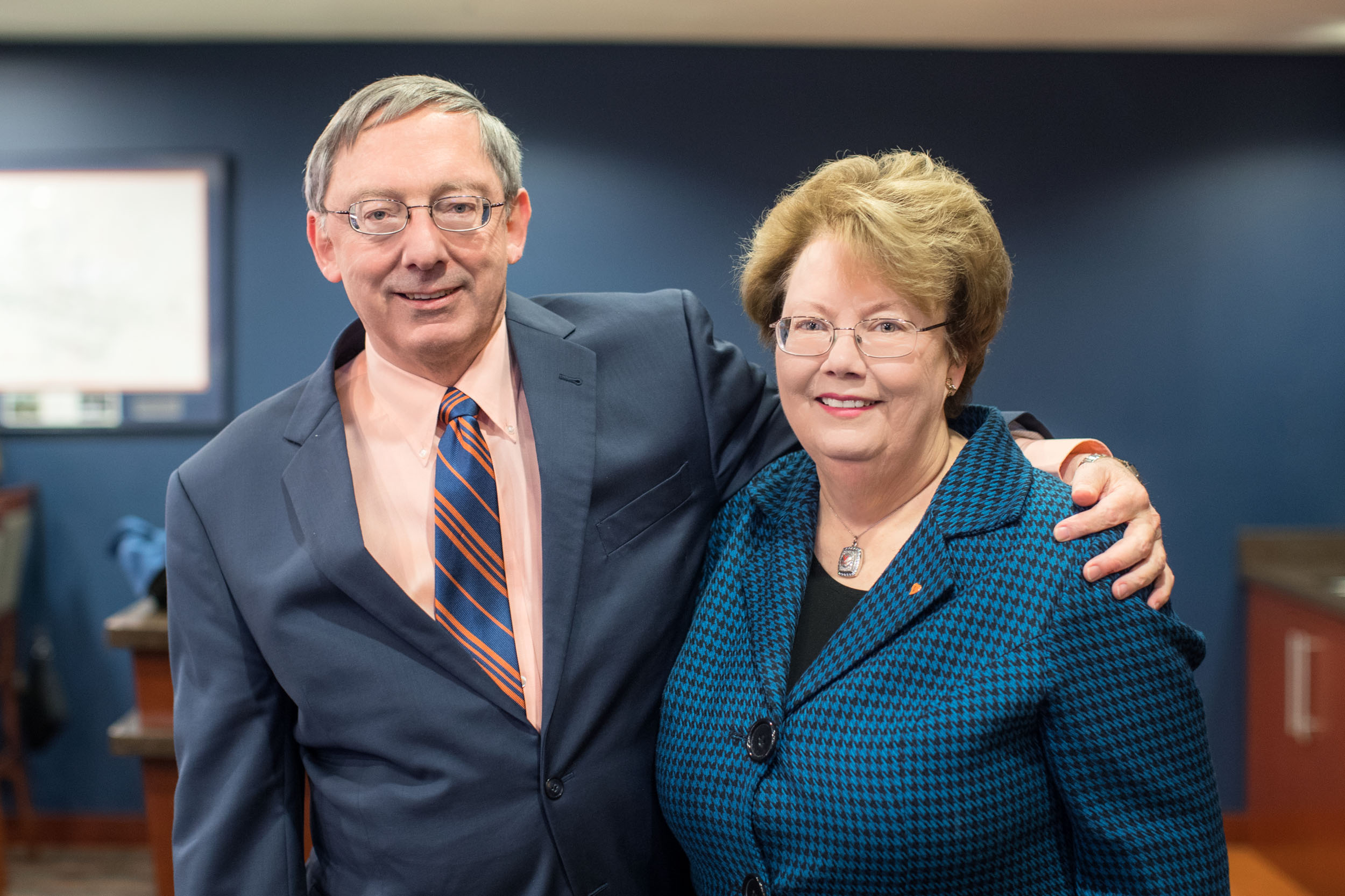 UVA President Teresa A. Sullivan and her husband, law professor Douglas Laycock, have contributed hundreds of thousands of dollars toward educational and extracurricular activities.