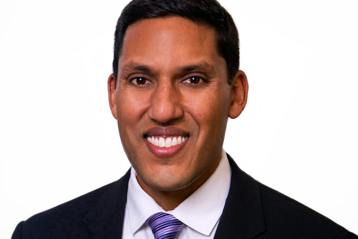 Dr. Rajiv J. Shah is president of The Rockefeller Foundation, a global philanthropic organization that harnesses advances in data, science and technology to help the world's most vulnerable. (Photo courtesy Dr. Rajiv J. Shah)