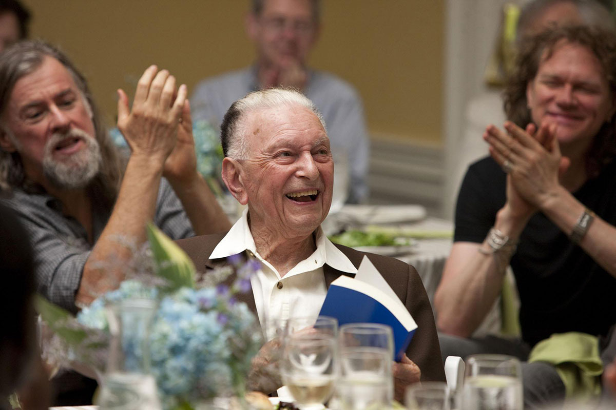 Ralph Cohen was honored in 2010 for founding and editing New Literary History for 40 years.