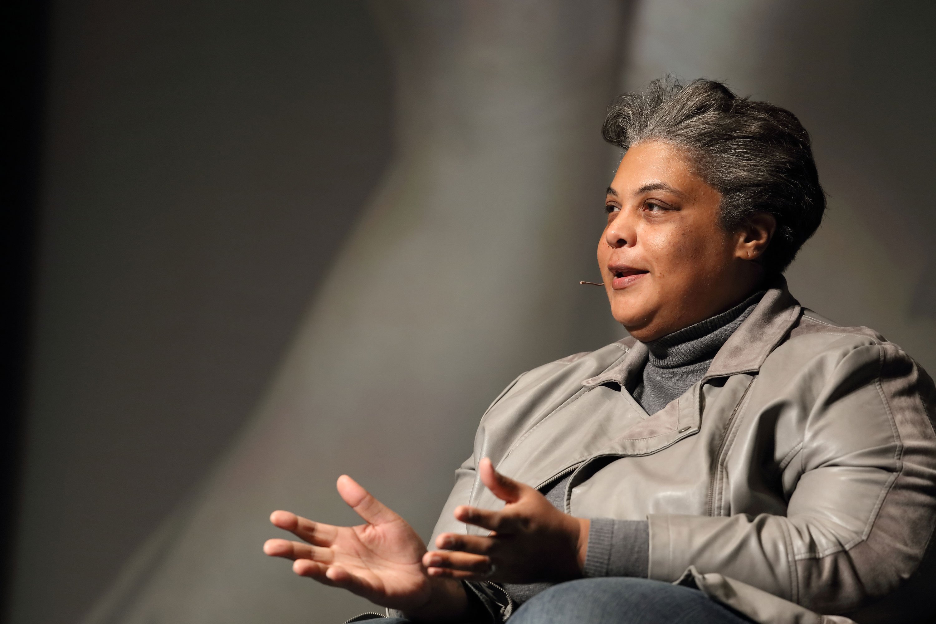 Author and cultural critic Roxane Gay writes essays, novels, short stories and comics.