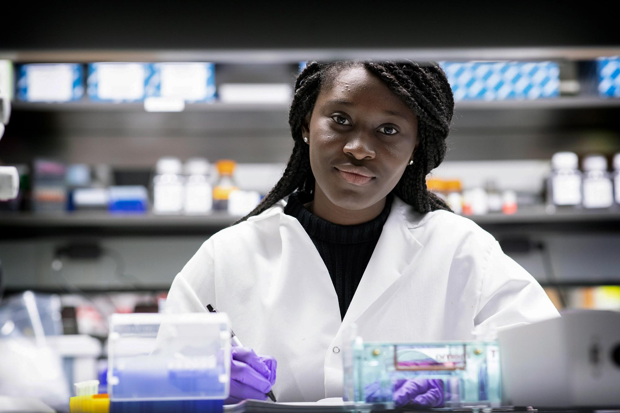 First-Year Lab Experience Gave This Student the Confidence to Aim for a Ph.D.