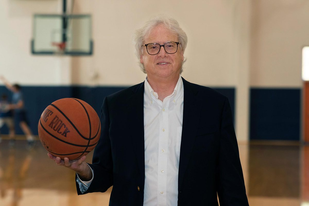 Darden associate professor Robert Carraway grew up playing and coaching basketball.
