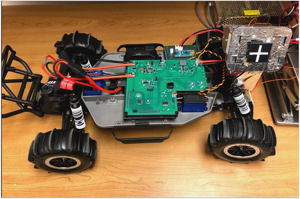 A rover model used by a UVA Engineering team in their work for NASA's 2020 Big Idea Challenge Awards. (Contributed photo)
