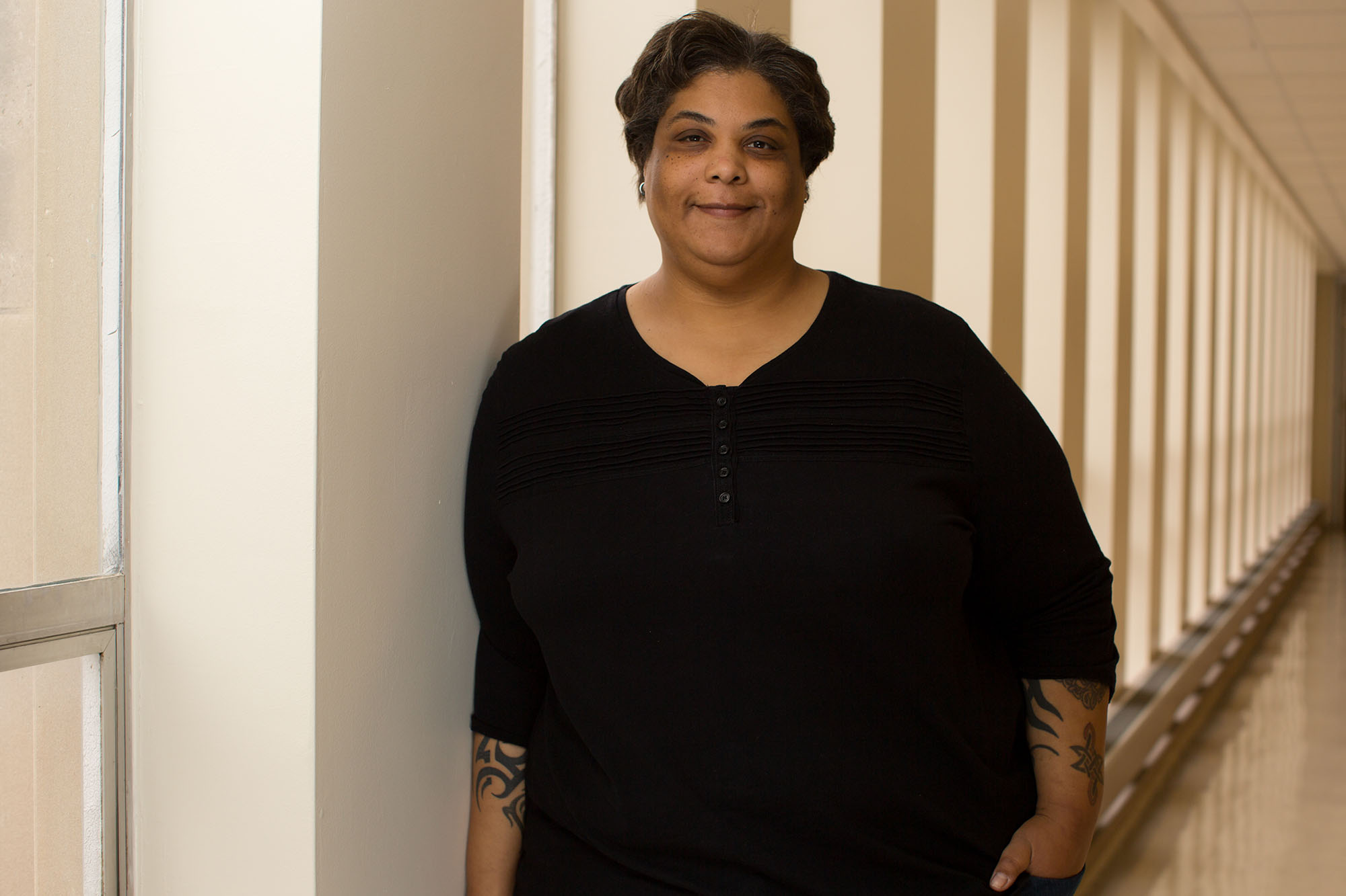 Author and cultural critic Roxane Gay writes essays, novels, short stories and comics. (Photo courtesy of Roxane Gay/Jay Grabiec)