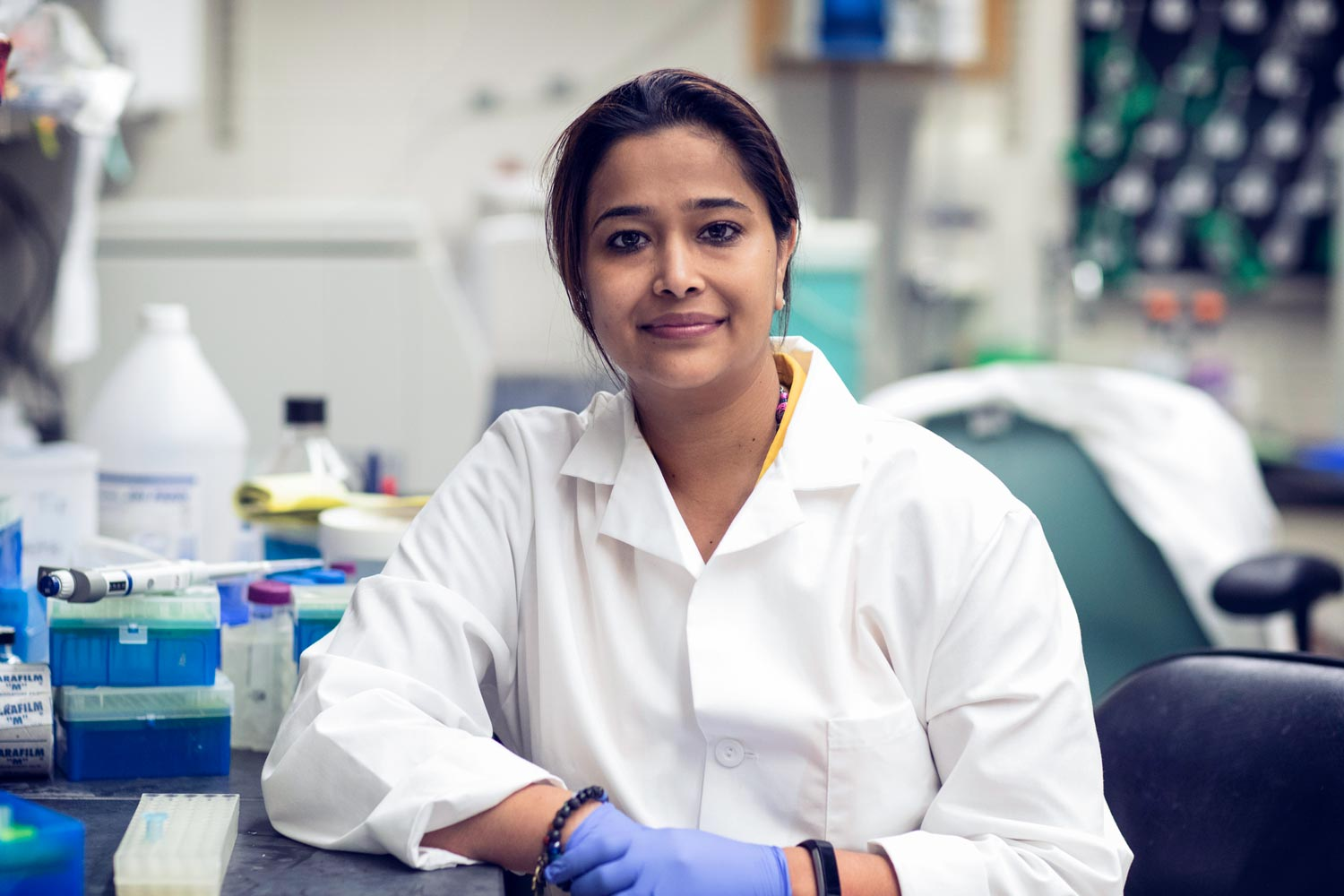 Sanchita Bhatnagar is investigating ways to reactivate healthy-but-inactive chromosomes, in an effort to repair brain damage that has been thought to be permanent.