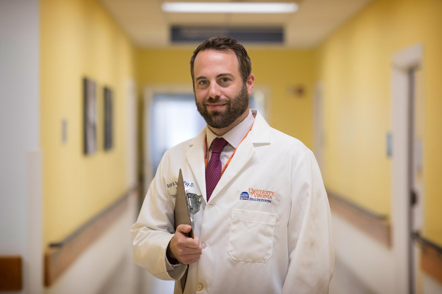 Clinical neuropsychologist Scott Sperling looked beyond the physical benefits of the focused ultrasound procedure to measure the quality-of-life effects as well.
