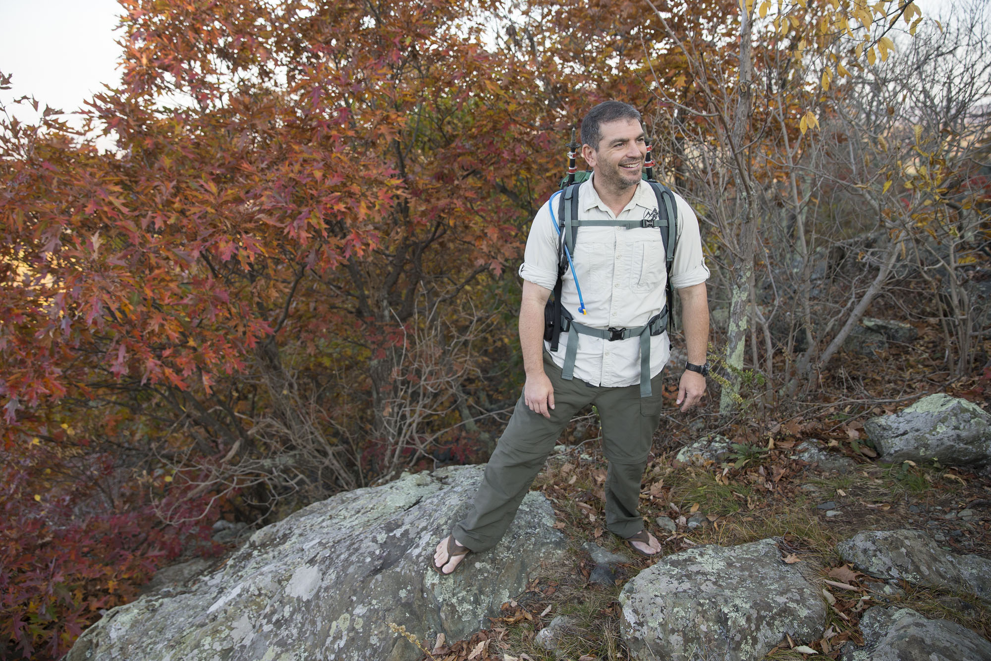 Darden graduate Sean Gobin discovered the healing power of hiking firsthand and has dedicated his business to giving other veterans the same experience.