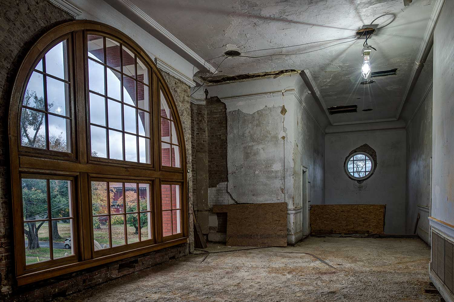 Old Hospital Leads Grad Student To Probe How Nature