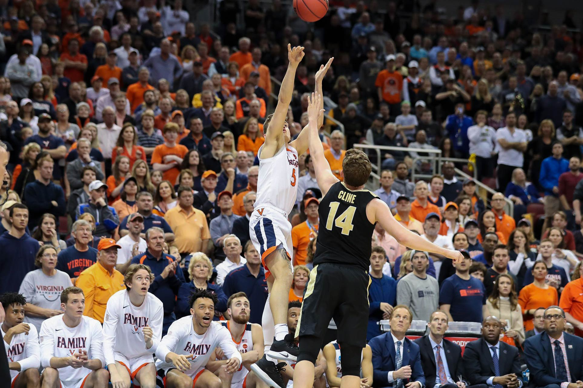 Will it go in? UVA basketball can be stressful for fans who have no real physical outlet for their nervous energy.