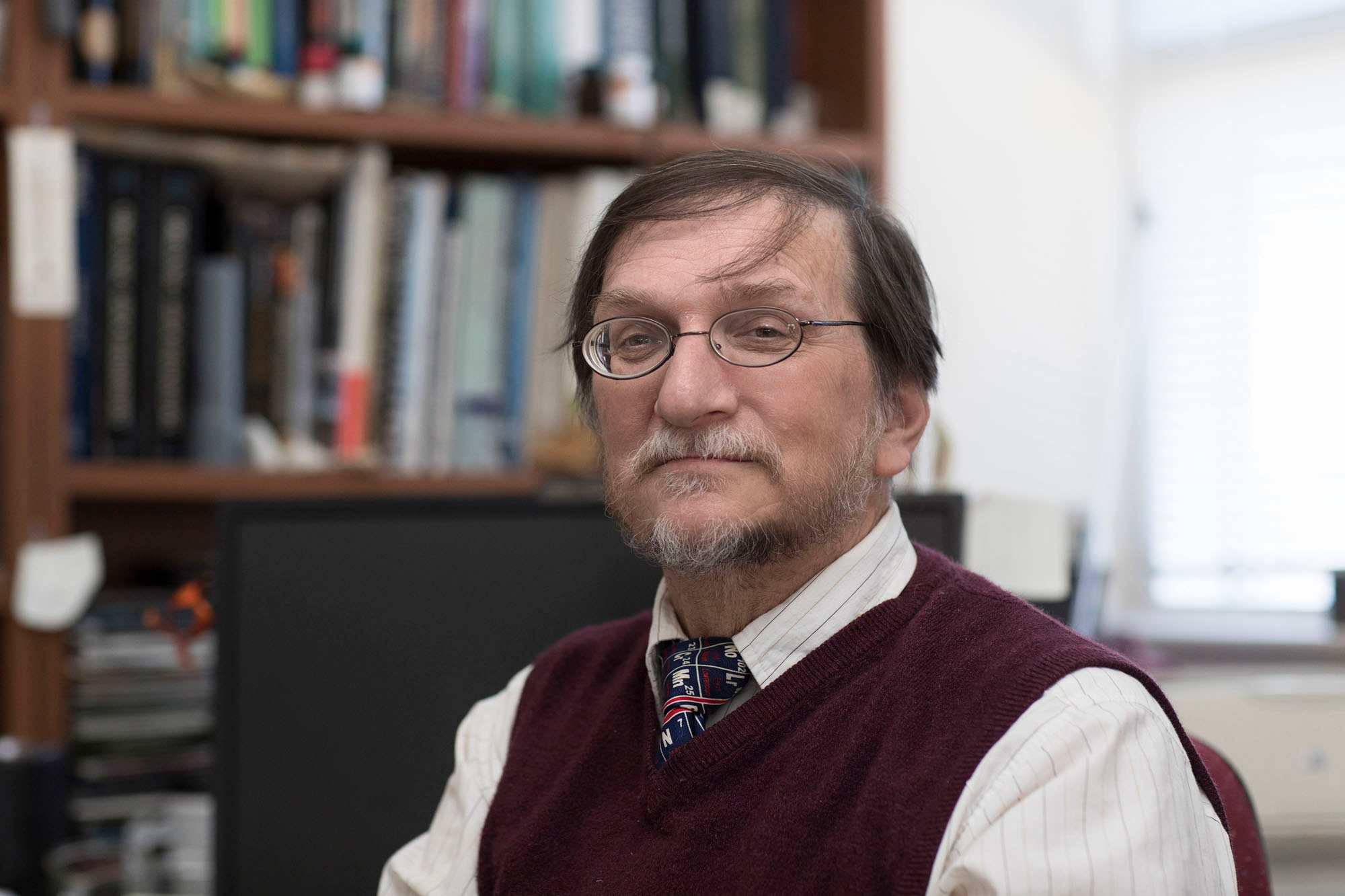 "Environmental scientist Stephen Macko says that teaching and research are ""intimately linked,"" one informing the other."