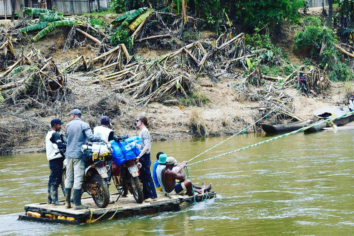 Transportation in Madagascar can be adventurous, and can pose a challenge for those in rural communities far from health care facilities. (Contributed photo)