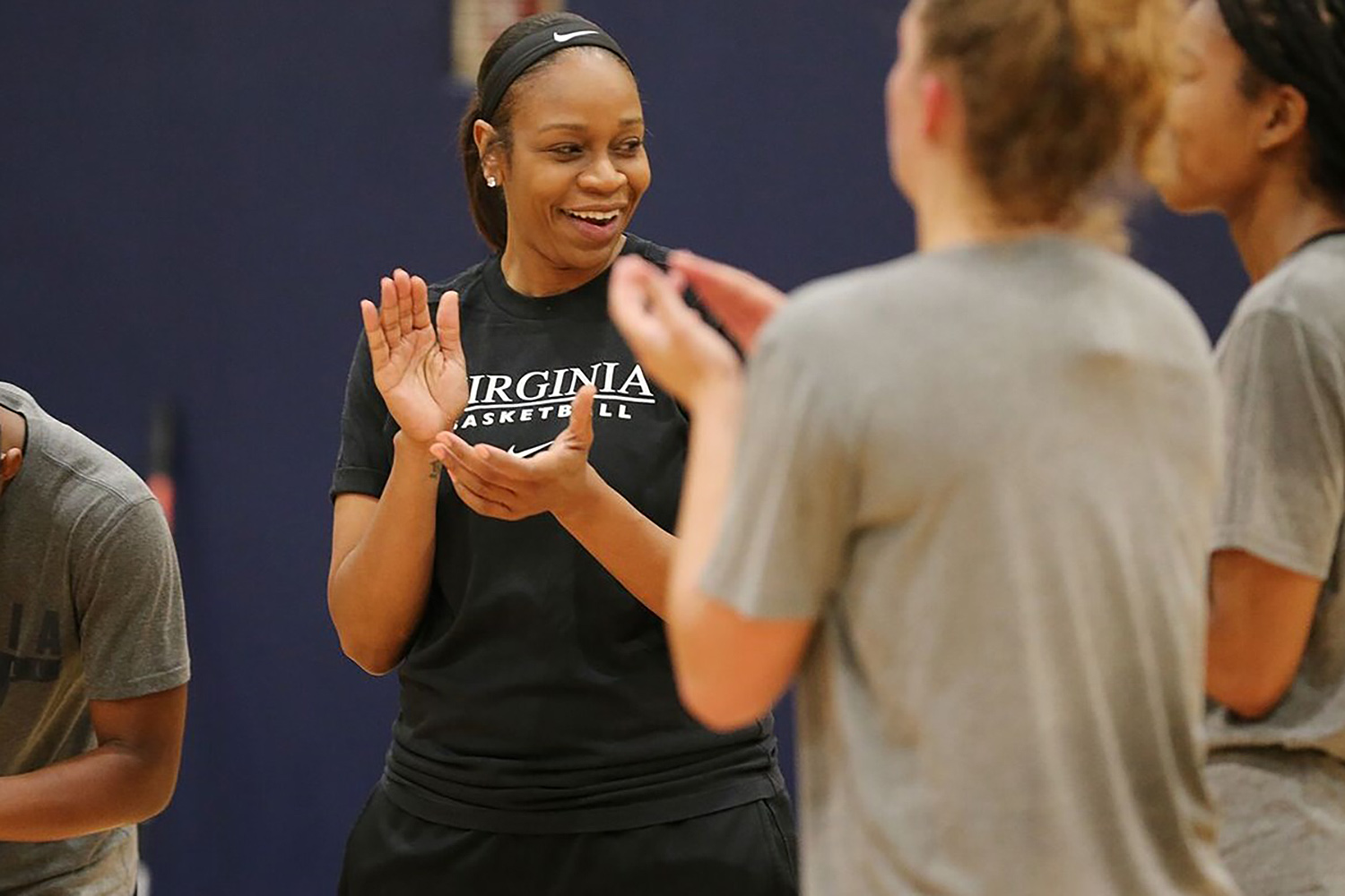 """When Tina Thompson took up basketball at age 9 in Los Angeles, she said she """"never, ever"""" imagined it would lead to enshrinement in the Naismith Hall of Fame."""