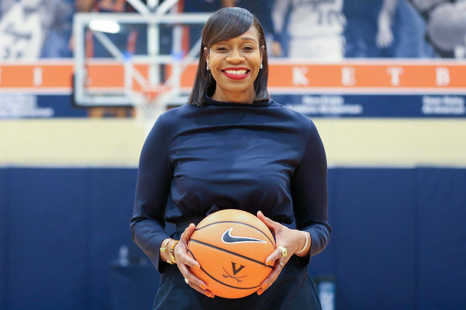 """Tina Thompson says she expects coaching life to be something of a """"whirlwind,"""" at least for the first year."""