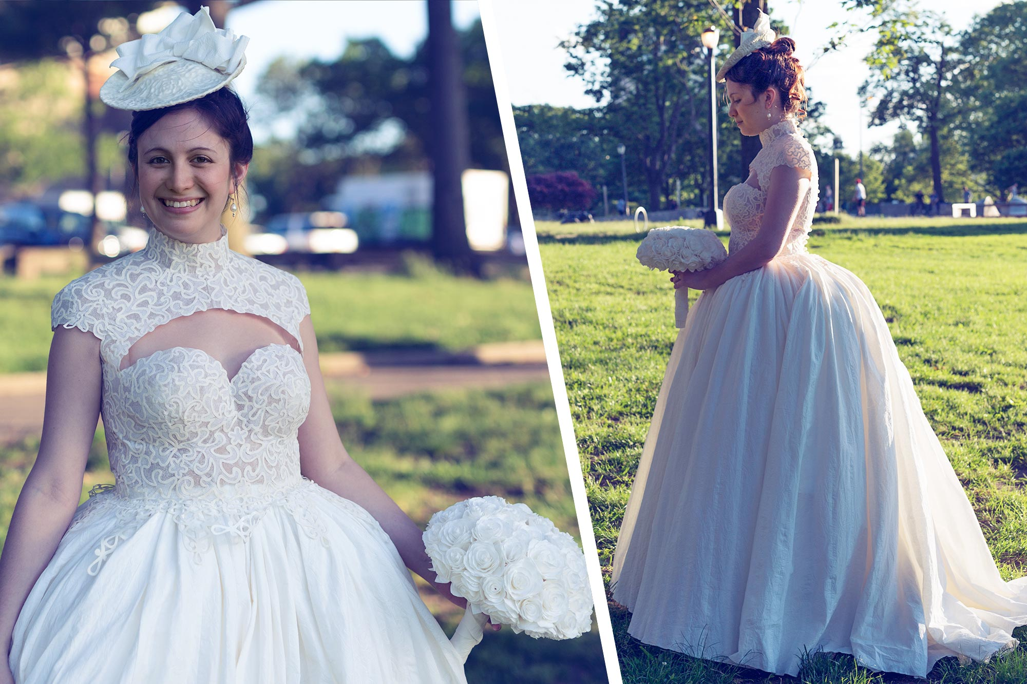 A Flushing Bride Alumna In Top 10 Of Toilet Paper Wedding Dress