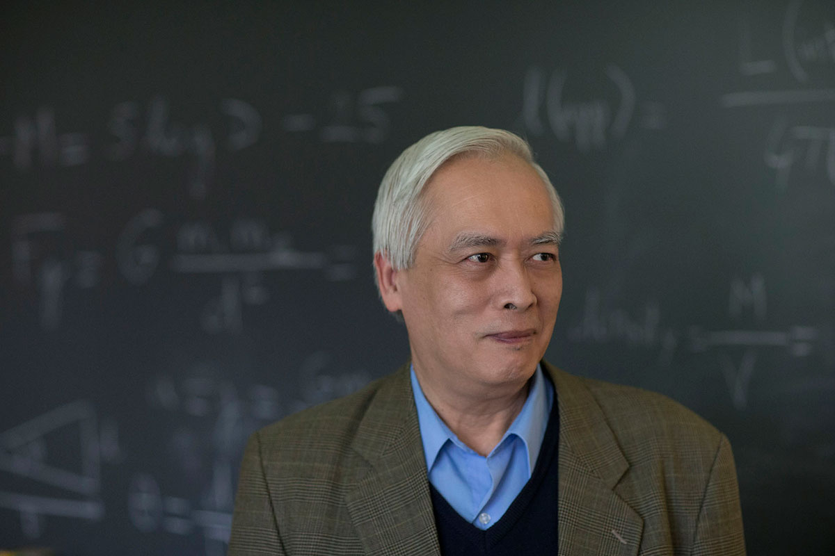 Astronomy professor Trinh Thuan organized the international team of astronomers who made the discovery using data from the Hubble Space Telescope.