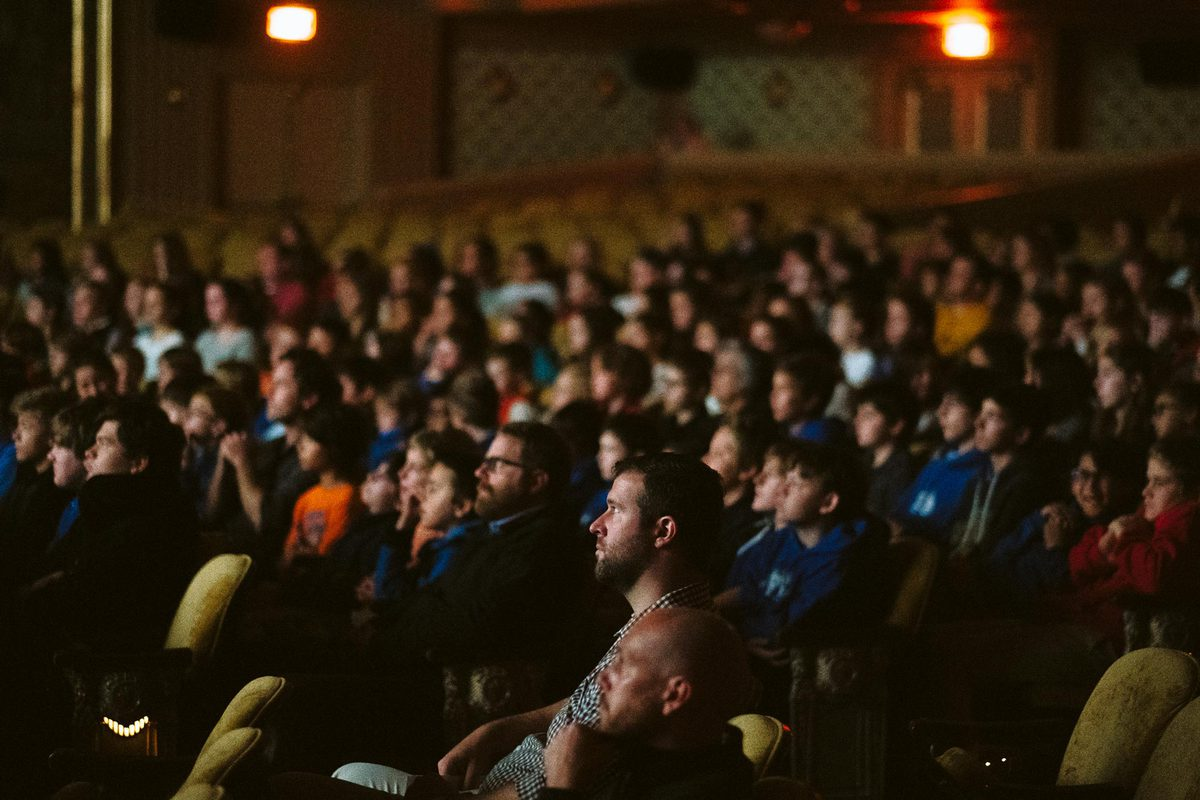 The Virginia Film Festival draws large crowds of film enthusiasts each year. (Photo by Eze Amos)