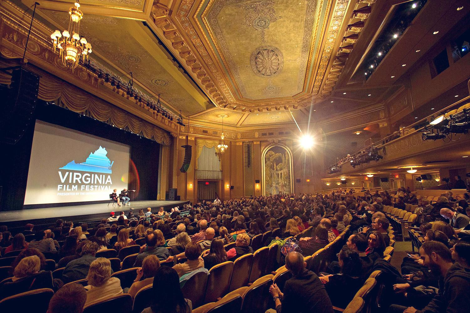 The Virginia Film Festival regularly draws capacity crowds to Charlottesville for film screenings, discussion sections and workshops.